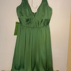 NWT BCBG party dress in green